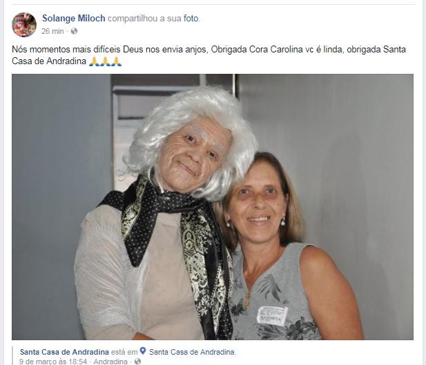 Post de Cora Coralina