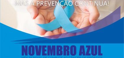ARTE NOVEMBRO AZUL HOJE +