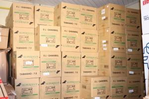 EPIs doados pela Empresa JBS